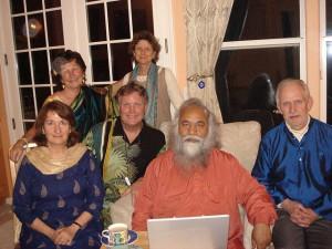 Swami Shankrananda visit to Ananda Village